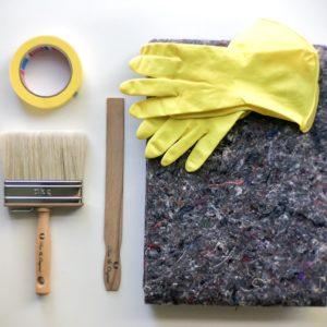 Werkzeugset Fresco Kalkfarbe
